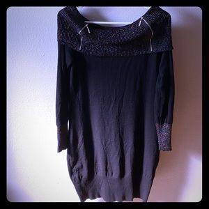 LIKE NEW Sweater Party Sexy Dress, L